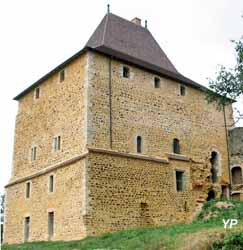 Tour de Vesvre - reconstitution 3D du site au XVIe s.