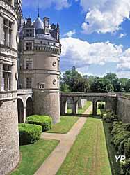 Château du Lude - les douves