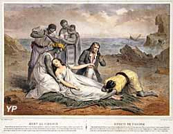 mort de Virginie par Turgis