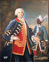 Portrait d'Antoine Barthélemy de Vire Duliron de Montivers (François-Dagobert Jouvenet) (G. Broudic − Musée de la Compagnie des Indes − Ville de Lorient)