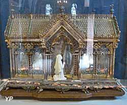 Crypte - châsse de sainte Bernadette