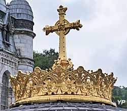 Basilique Notre-Dame-du-Rosaire - sommet de la coupole