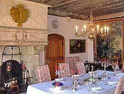 Château de Montpoupon - salle à manger