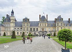 cour des adieux du château de Fontainebleau