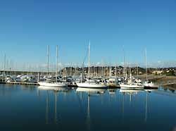 port de plaisance de Barneville-Carteret (doc. OT Barneville-Carteret)