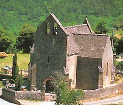 chapelle à Beynac (doc. OT Beynac-et-Cazenac)
