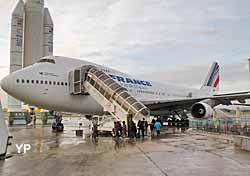 Visite du Boeing 747
