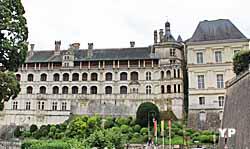 Aile François Ier, façade des Loges