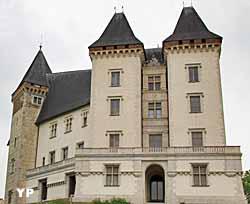 Façade Ouest, tour Louis Philippe, tour Mazères