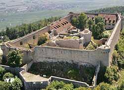Château du Hohlandsbourg, замки Эльзаса
