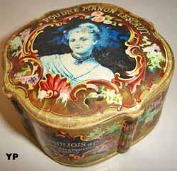 Boîte de poudre de riz Manon Lescaut