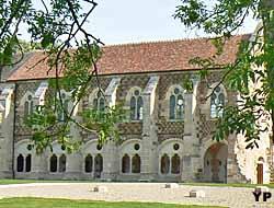 Bibliothèque des moines (Abbaye de Cîteaux)