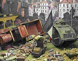 Les villes détruites sur le front