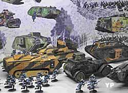 Bataille de chars