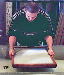 Papier à la forme