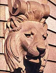 Scupture de la façade (Henri Varenne, 1905)