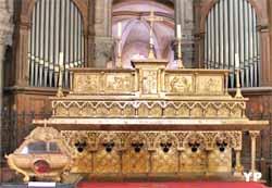 Maître autel (Louis Bachelet, 1866)