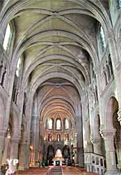 Basilique Saint-Denys, nef