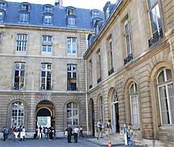 Hôtel de Bourvallais - Ministère de la Justice