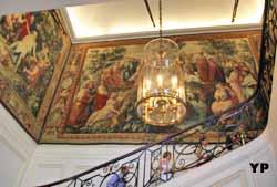 Hôtel de Bourvallais - escalier d'honneur