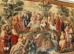 Hôtel de Bourvallais - Le Parnasse d'après Raphaël (tapisserie des Gobelins)