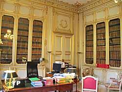 Hôtel de Bourvallais - bibliothèque royale