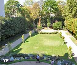 Hôtel de Bourvallais - jardin