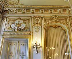 Hôtel de Bourvallais - salon des oiseaux