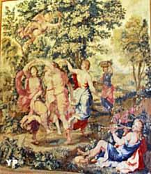 Hôtel de Bourvallais - Danse de Bergers et Bergères d'après Jules Romain, tapisserie des Gobelins