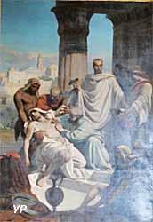 Saint Côme et saint Damien guérissant des malades (XIXe s.)
