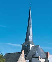 église Saint-Symphorien de Baugé (doc. JP Klein / CDTA)