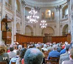 Oratoire du Louvre - pasteur en chaire
