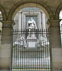 Oratoire du Louvre - monument à l'amiral Gaspard de Coligny