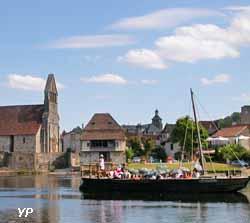 Balades en gabare (doc. Office de Tourisme du Pays de Beaulieu)