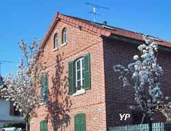 Une maison type de la cité Menier (mairie Noisiel)