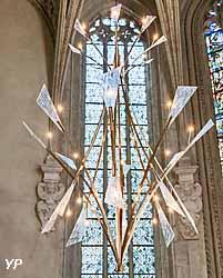 Luminaires de la Sainte-Chapelle du château des ducs de Savoie à Chambéry (Savoie) (Natacha Mondon & Éric Pierre)