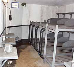 Fort de la Salmagne - chambre pour 10 hommes