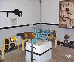 Fort de la Salmagne - salle de l'arme mixte