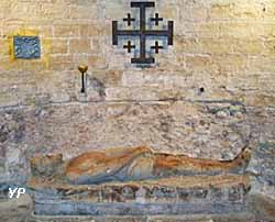 Église Saint-Leu Saint-Gilles - crypte et gisant