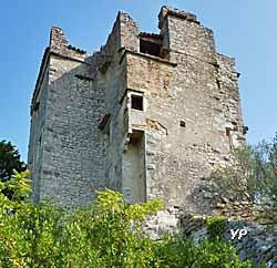 Château de Roquevaire (doc. Office de Tourisme Intercommunal de Sauve)