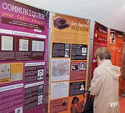 Panneaux de l'exposition temporaire pouvant être réservés aux scolaires et aux municipalités pour