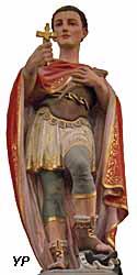 Saint Expedit (plâtre)