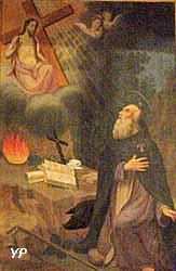 Le Christ apparaissant à Saint Antoine (1854)