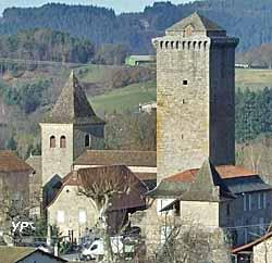 Tour médiévale (XIIIe s.) (doc. Pierre Durand, Les Amis de la Tour de Teyssieu)