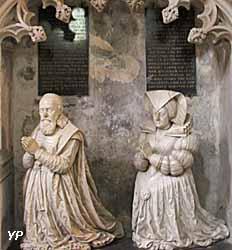 Cathédrale Saint-Lazare - tombeau de Pierre Jeannin et Anne Guéniot (début XVIIe s.)