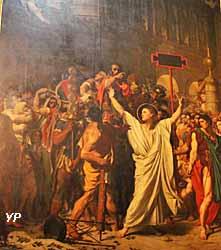 Cathédrale Saint-Lazare - le martyre de saint Symphorien (Jean-Auguste-Dominique Ingres, 1834)