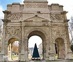 Arc de triomphe - face Nord