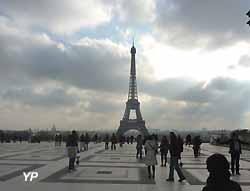 la Tour Eiffel au Trocadéro