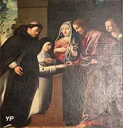 Le Mariage mystique de Sainte Catherine de Sienne (Philippe Quantin)