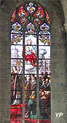 Vitrail de saint Joseph (XIXe s.)